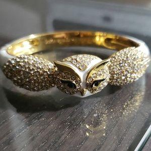 Kate Spade white and gold bracelet